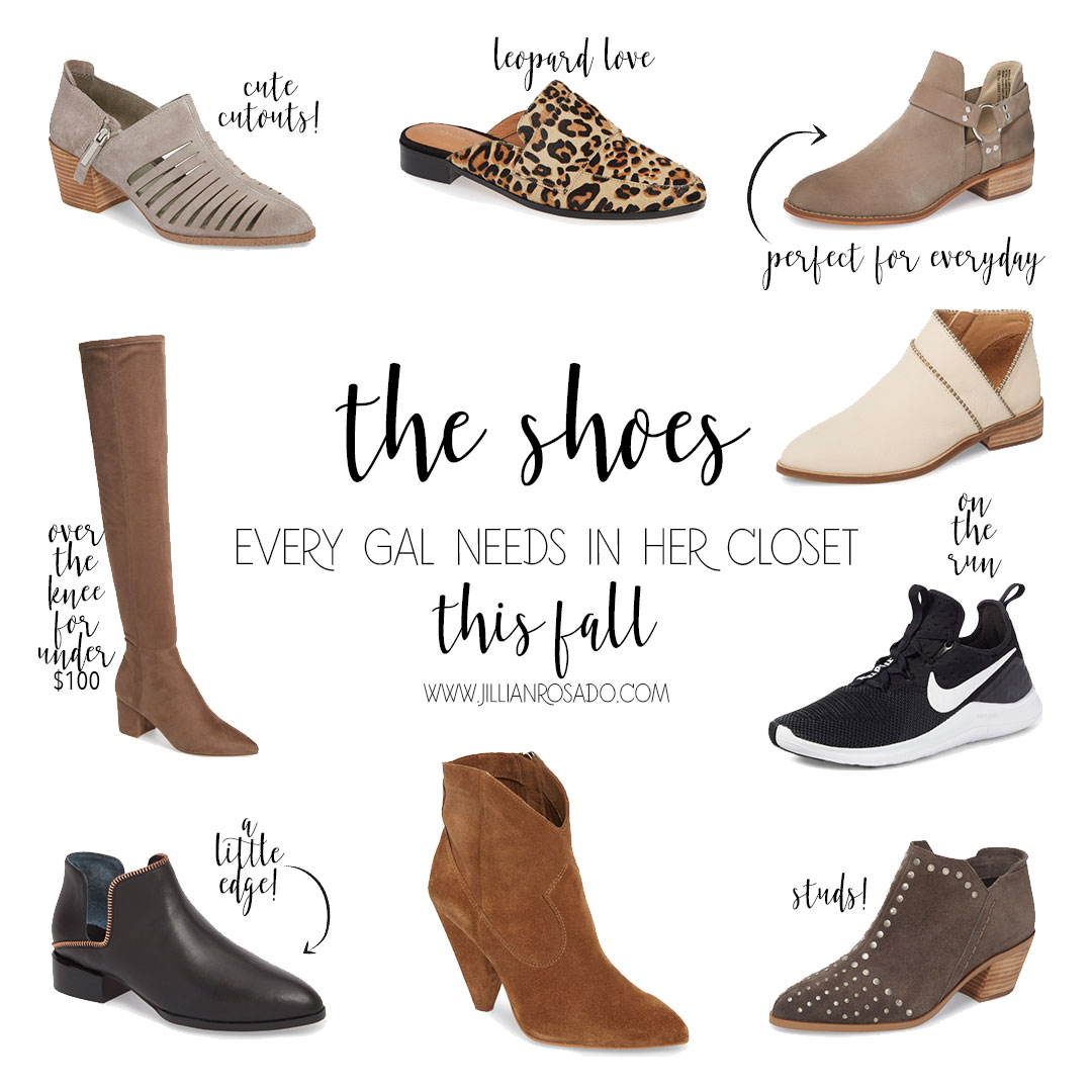 07a0cd2b59c Must Have Shoes for Fall featuring The Nordstrom Anniversary Sale ...