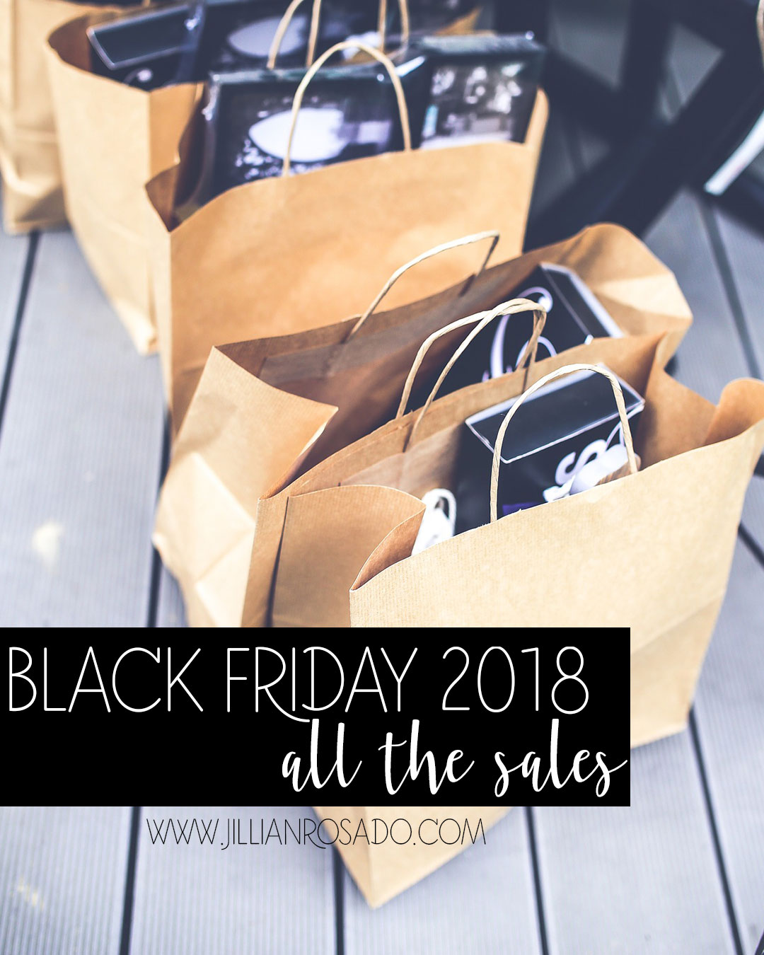 Black Friday Sales 2018 Jillian Rosado
