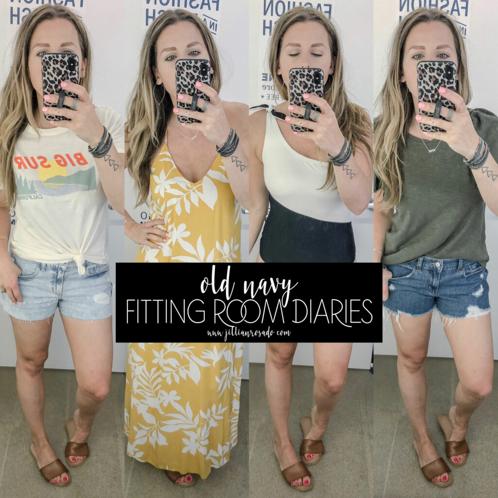 Old Navy Fitting Room Diaries // June 2019