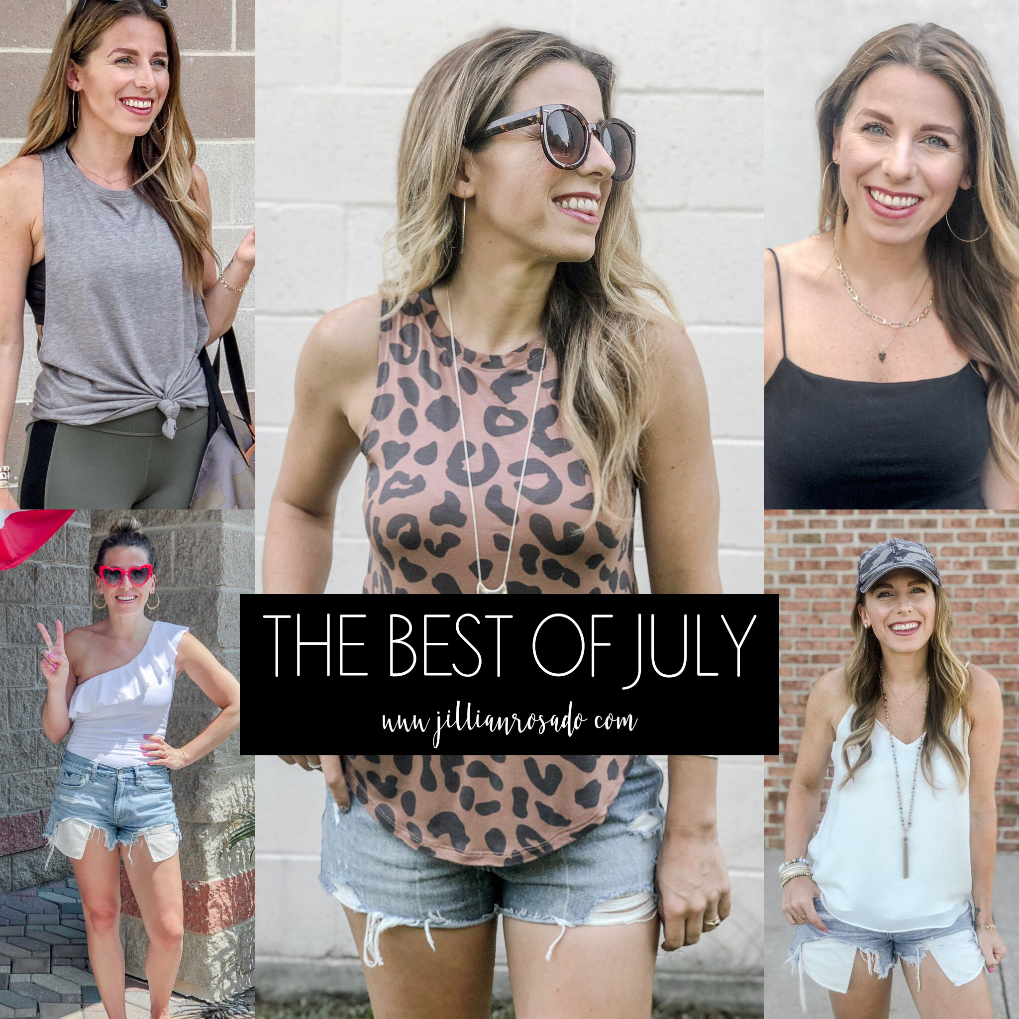 July Best Sellers 2019 Jillian Rosado